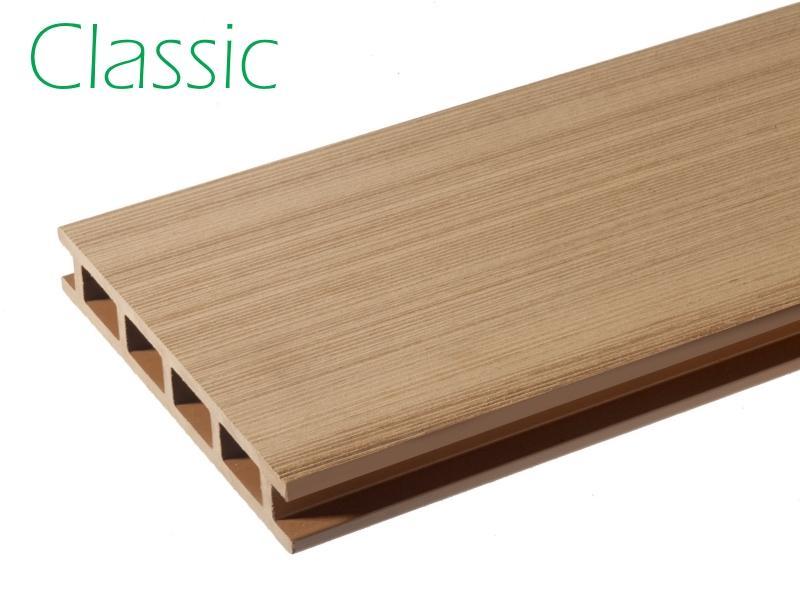 Classic deck - Hoogwaardige holle composiet planken