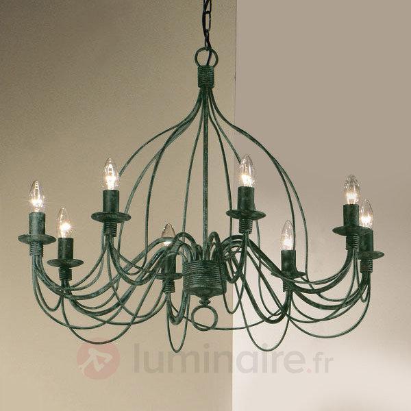Lustre FILO à 8 ampoules - Lustres rustiques