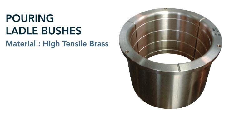 Pouring ladle bush - Continuous casting production lines