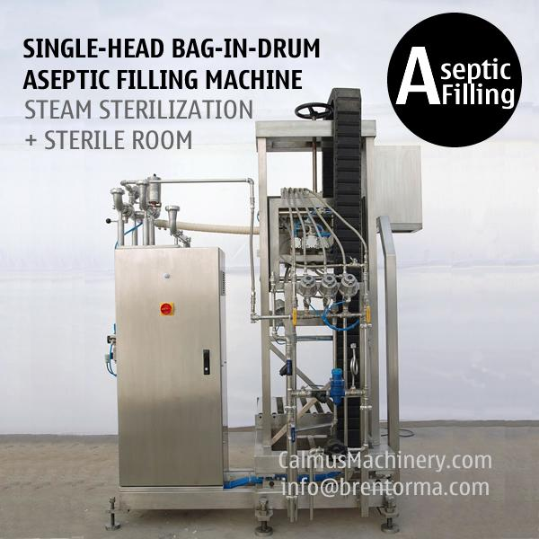 Single-Head Bag in Drum Aseptic Filler