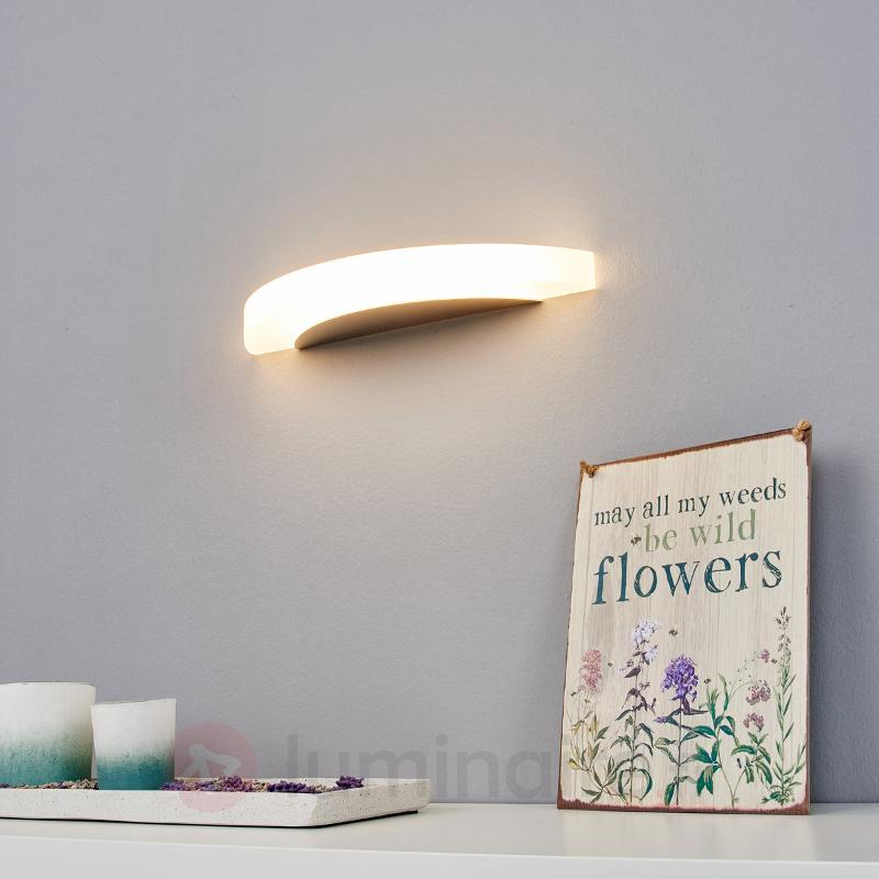 Alicja - applique LED chromée brillante - Appliques LED