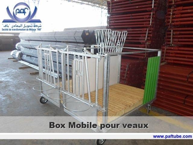 Box mobile pour veaux - Box mobile pour veaux