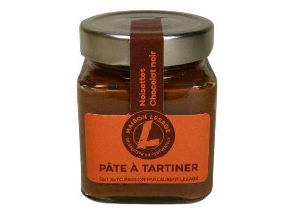 Pâtes À Tartiner - Noisettes, Chocolat Noir (35%), Vegan - Pot en Verre de 220 g