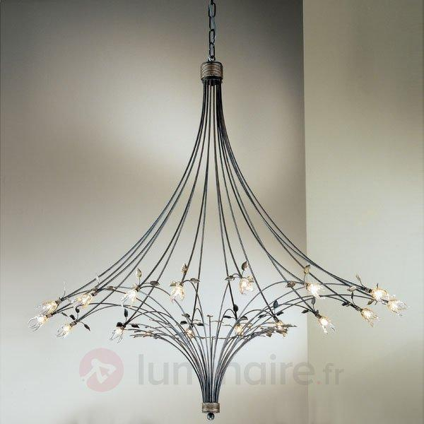 Lustre impressionnant MILLEFOGLIE à 16 lampes - Lustres designs, de style