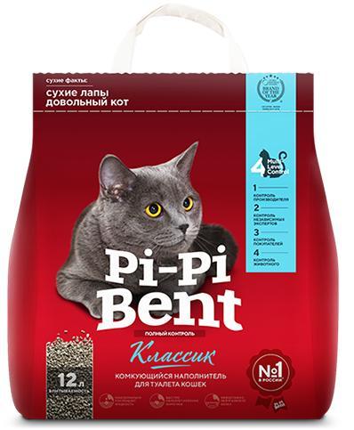 Pi-Pi-Bent Classic - CLUMPING BENTONITE CAT LITTER