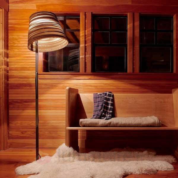 Lampadaire Tilt avec abat-jour en carton - Tous les lampadaires