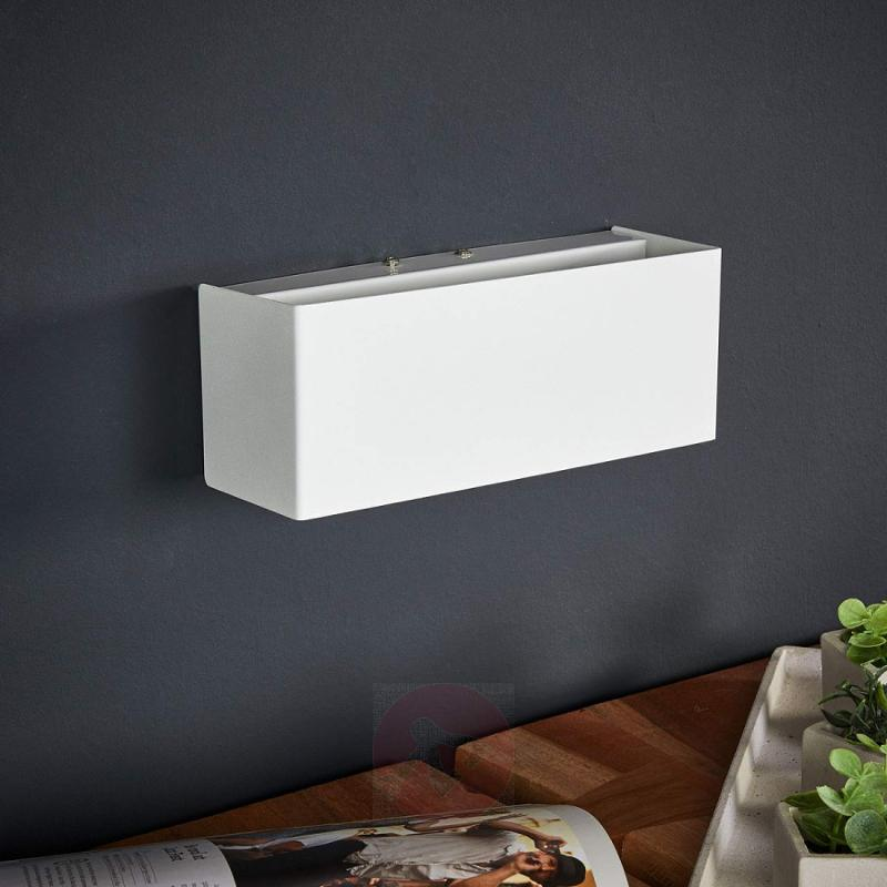 White LED wall light Kimberly - indoor-lighting