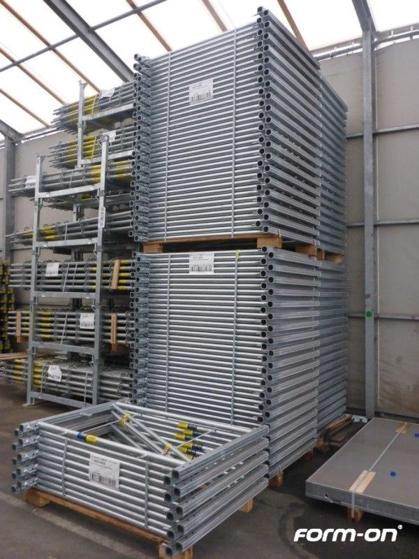 Load-bearing systems used - Doka frames Staxo 100 eco galvanised
