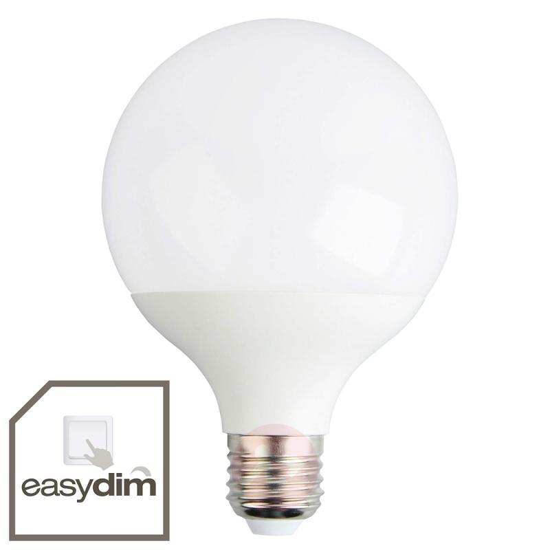 E27 12 W 830 LED globe bulb G95, easydim - light-bulbs