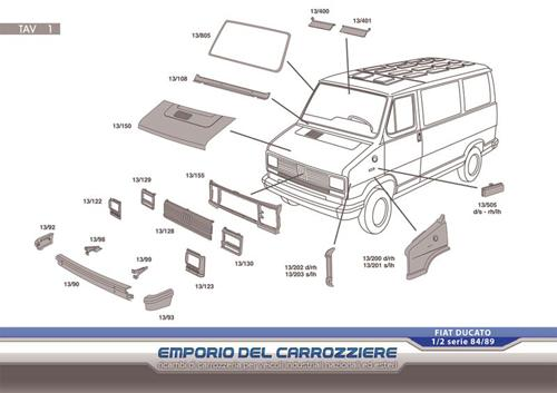 Ricambi Fiat Ducato