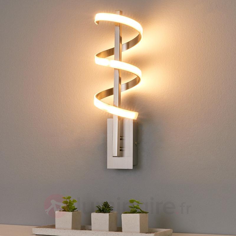 Applique à LED tournée Pierre - Appliques LED