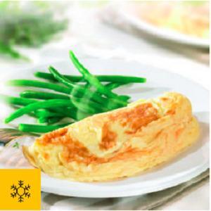Frozen gourmet plain omelette -