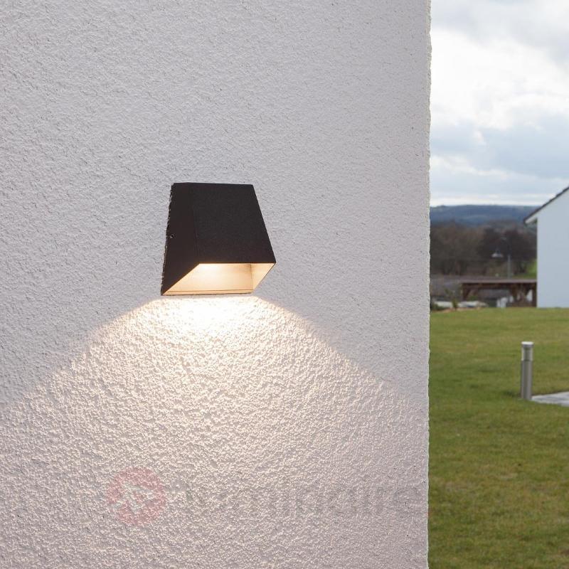 Applique d'extérieur LED Hanno à faisceau large - Appliques d'extérieur LED