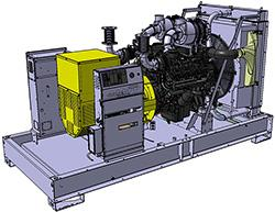 Groupes industriels standard - D550