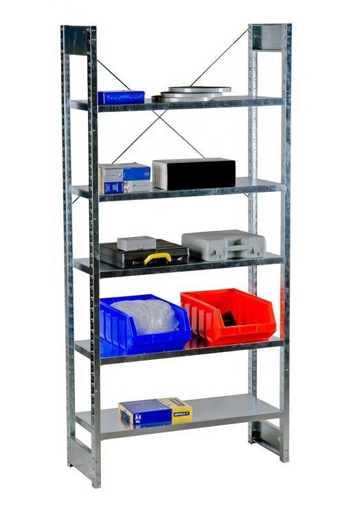 Galvanized shelving for warehouses - null