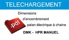 Palan électrique à chaîne DMK-HPR - null