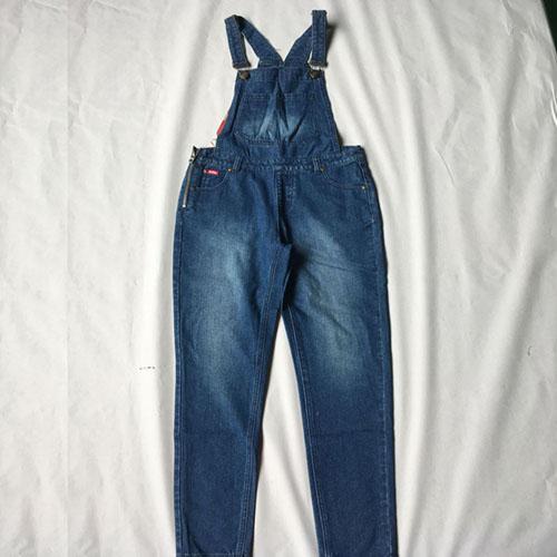 Pantalones de liga de mezclilla para mujer