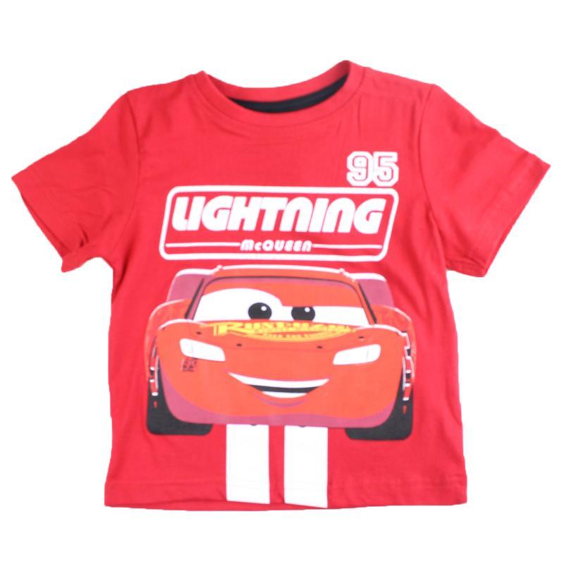 Fabricant de T-shirt manches courtes Cars du 2 au 8 ans - T-shirt et Polo manches courtes