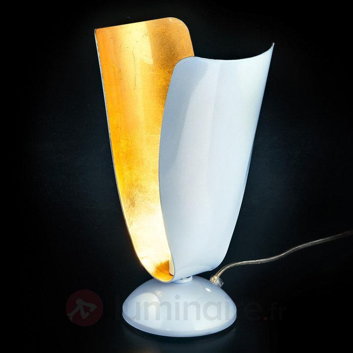 Lampe à poser Tropic à la feuille d'or - Lampes à poser designs