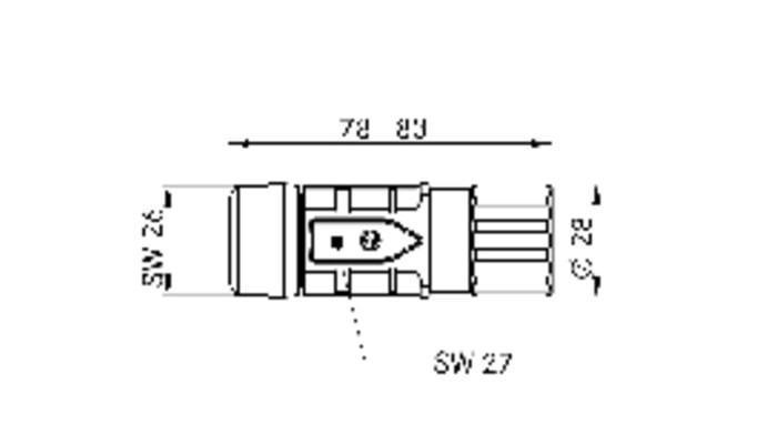 EPIC® POWER LS1 D6 - Conectores industriales, conectores circulares para servomotores y alimentación