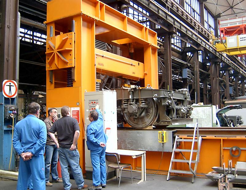 Special mechanical engineering - Railway technology