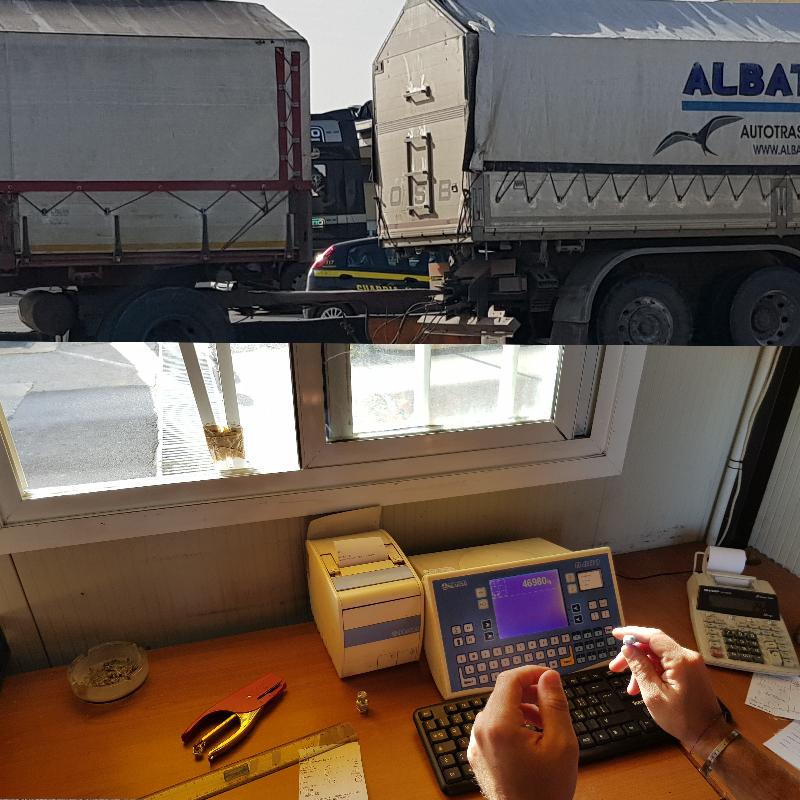 Weighing Control  - weighing control and trucks count