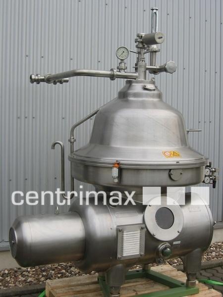 GEA Westfalia Separator Self-cleaning disc centrifuge - MSA 130-01-076