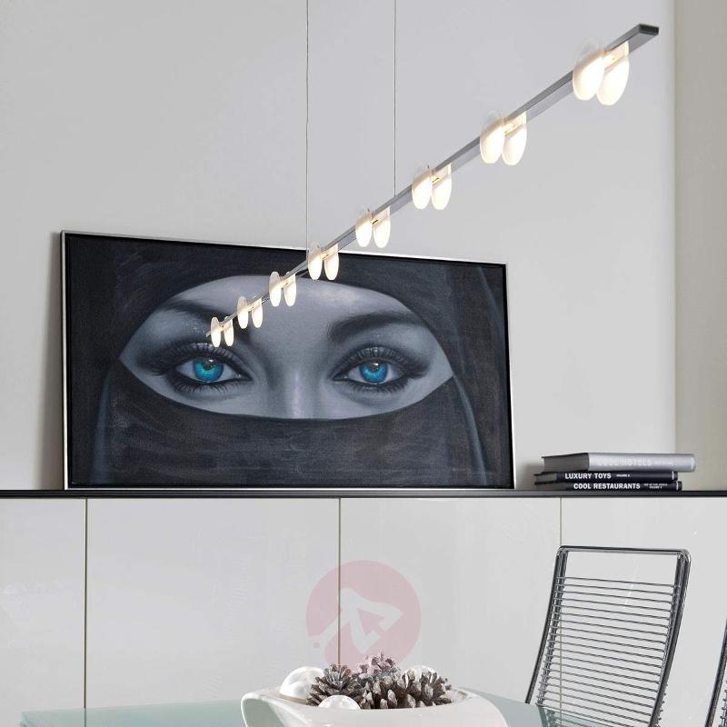 Eight-bulb LED hanging light Mary - Pendant Lighting