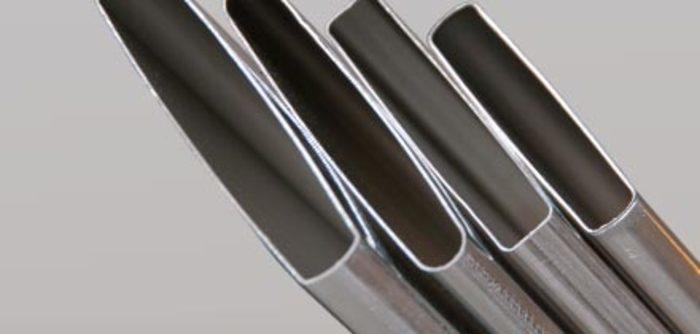 Aluminium charge air cooler tubes -