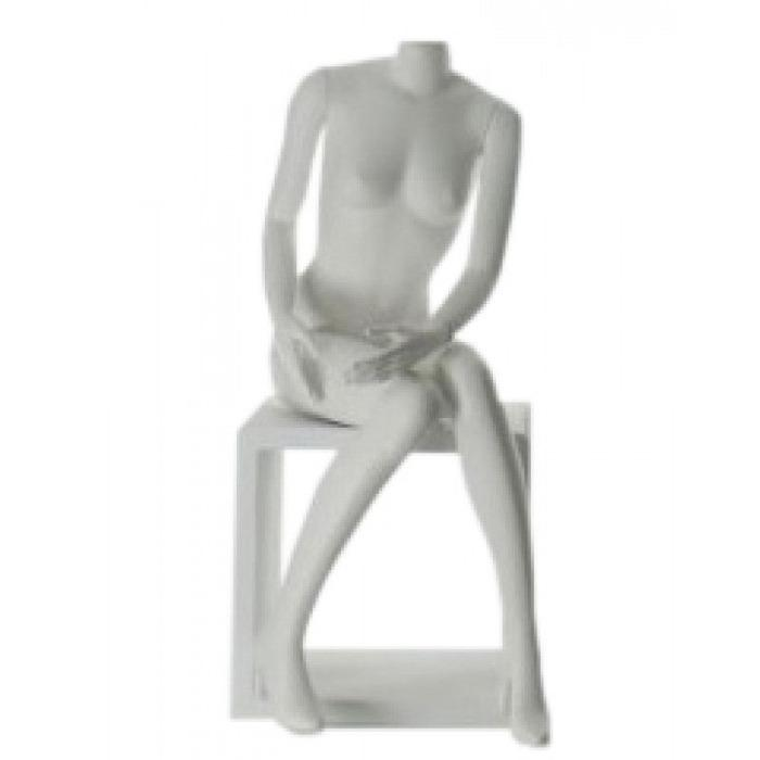 Mannequin seated - female display mannequin