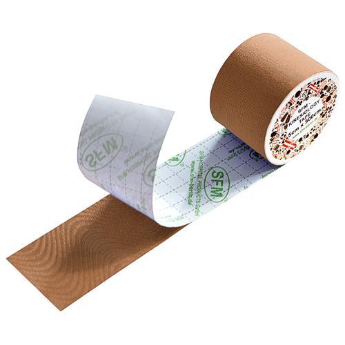 SFM Kinesiologie Tape in Folie 5cmx5m beige (1) - null