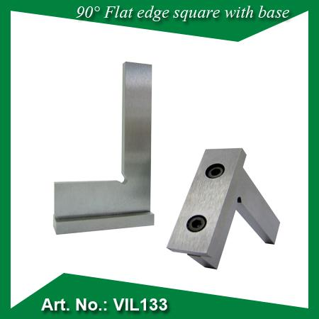 90 Flat edge square with base