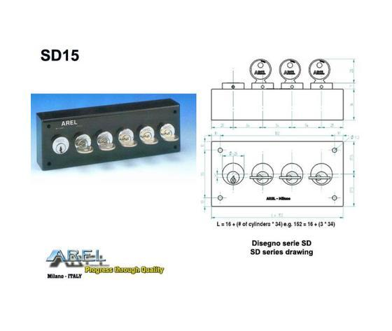 Distributori di Chiavi - Distributore chiave SD15