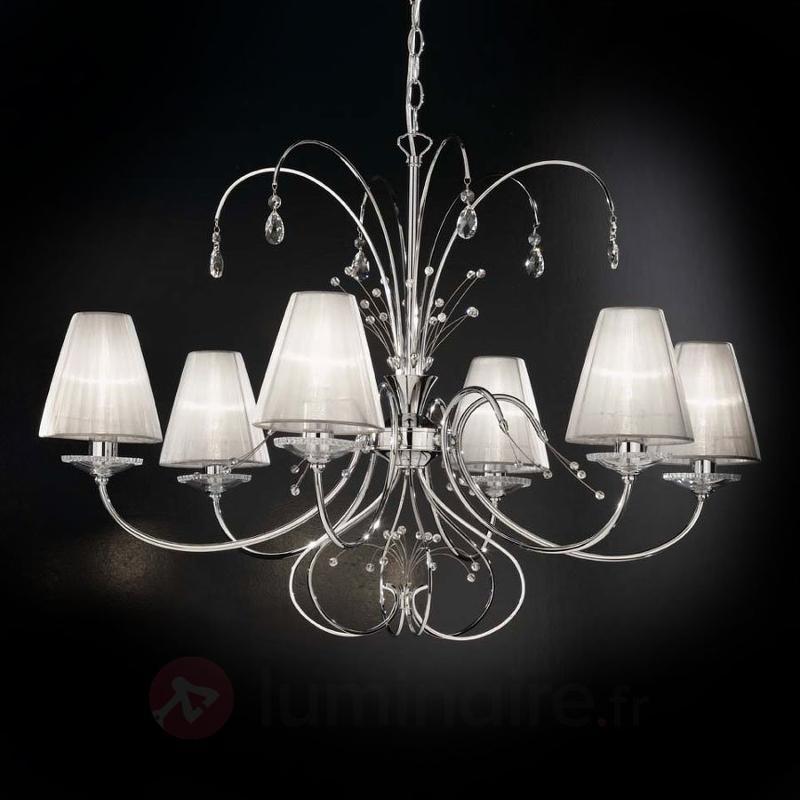 Lustre design à 6 lampes Emma - Lustres designs, de style
