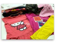 Used clothes - CHILDREN SUMMER No1
