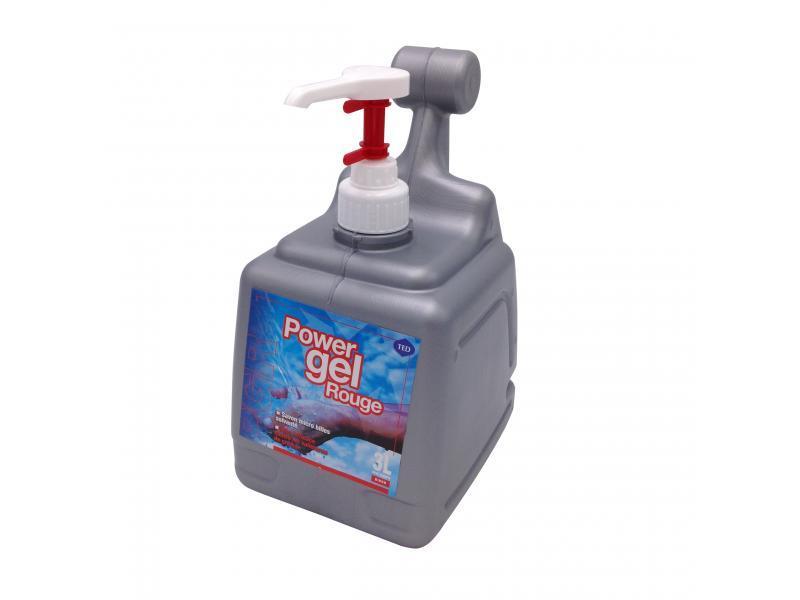 Savon microbilles solvants power gel citron bidon 3... - Hygiène et entretien