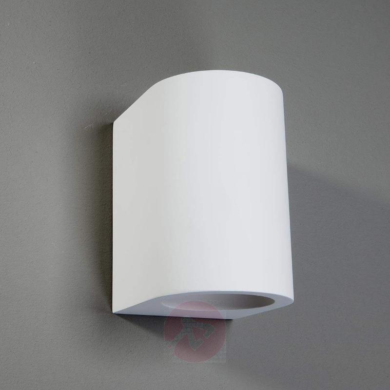 Zaio Halogen Light Paintable Plaster - Wall Lights