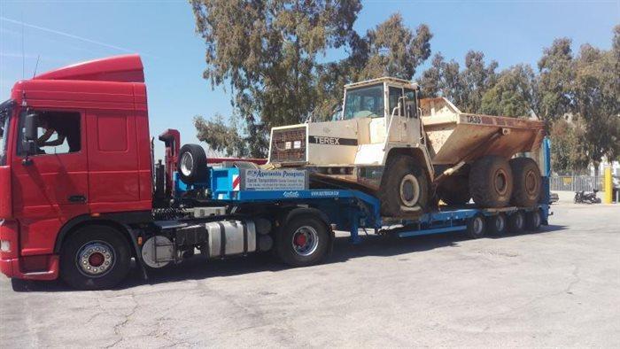 International Transport - A private fleet of vehicle consists of trucks various sizes modern lift trucks
