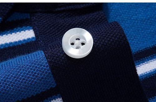 De manga corta hombre cuello redondo Camiseta - Polo de manga corta