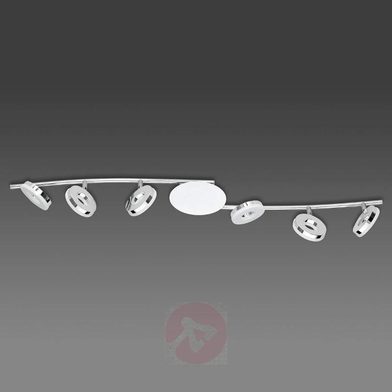 Rennes LED ceiling light with six lamps - Ceiling Lights