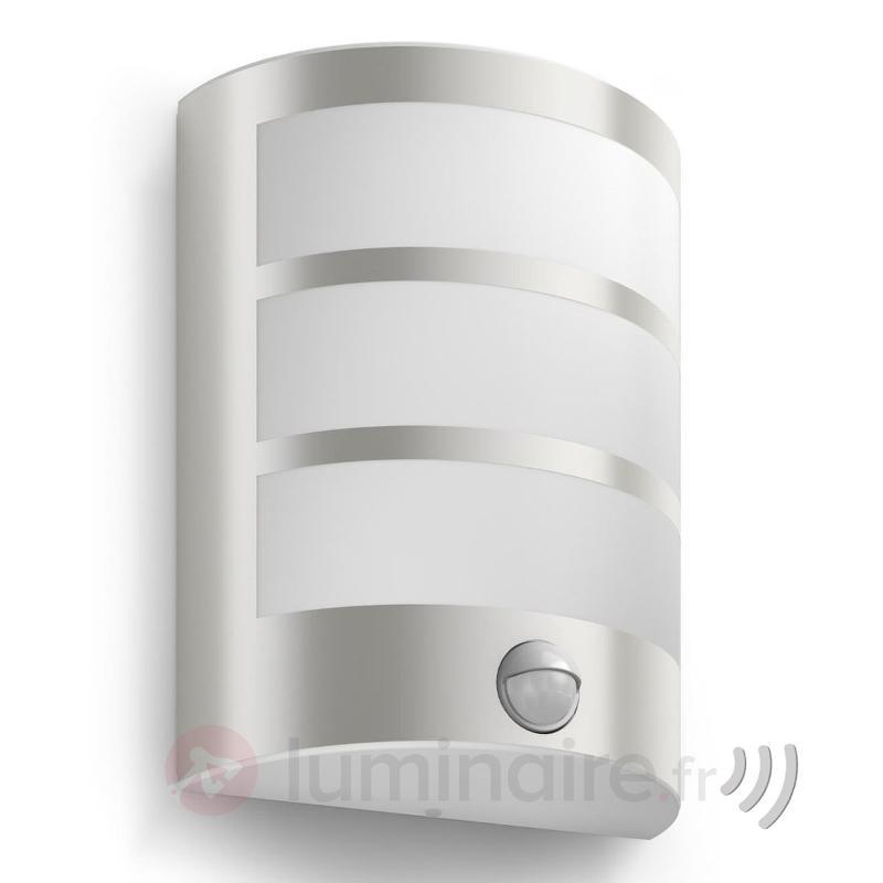Applique LED Python avec détecteur de mouvement - Appliques d'extérieur avec détecteur