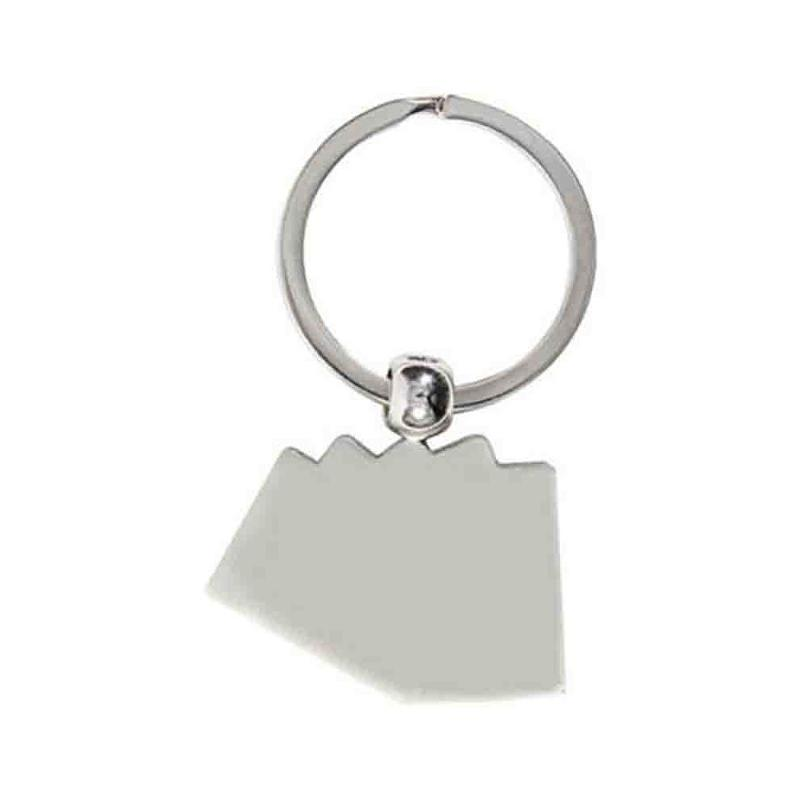 Porte-clés cartes métal - Porte-clés métal