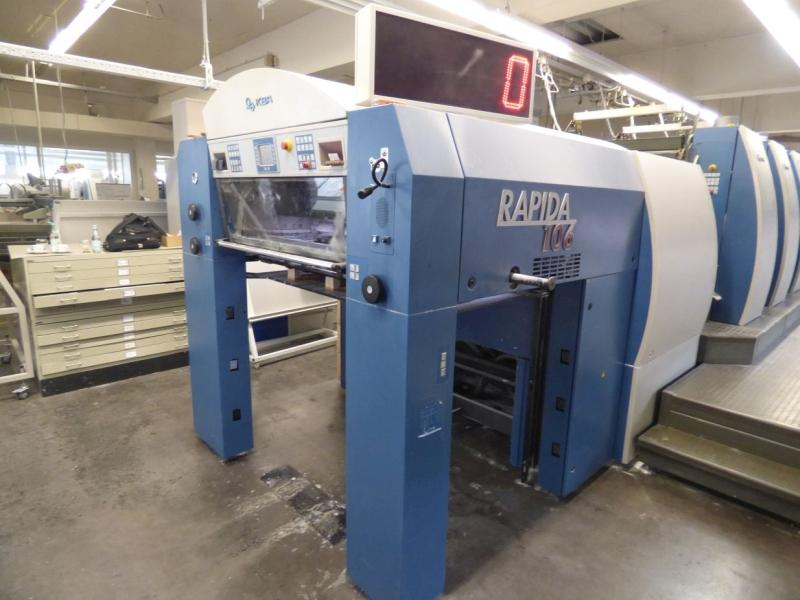 KBA Rapida RA 106-8 SW4 - SPC - Used Machine