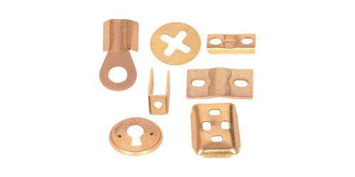 Brass Sheet Metal Parts - Natural, Nickle Plated, Tin Plated brass sheet cutting parts, brass pressed part