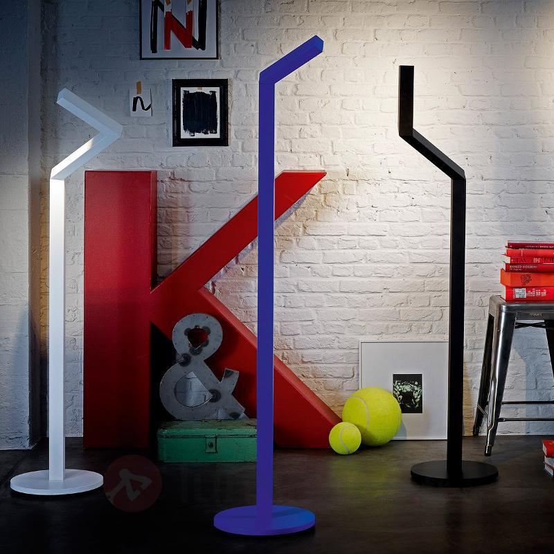 Lampadaire LED Nick-Knack bleu - Lampadaires LED