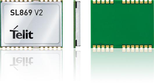 Jupiter SL869 V2 - GNSS module - 3.3V nominal/GPS/GLONASS/Galileo//UART