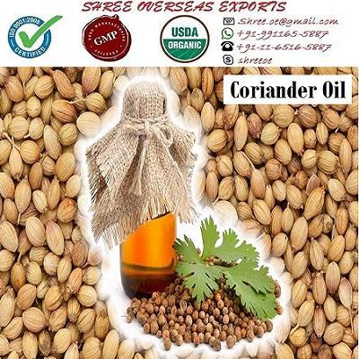 Organic Coriander Oil - USDA Organic