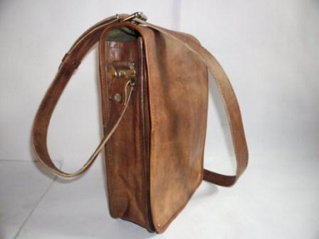 Leather Sling Bag - Leather Sling Shoulder Bag