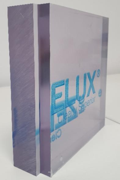 Zelux W: Premium window grade polycarbonate sheet - compression molded sheets in thick gauges