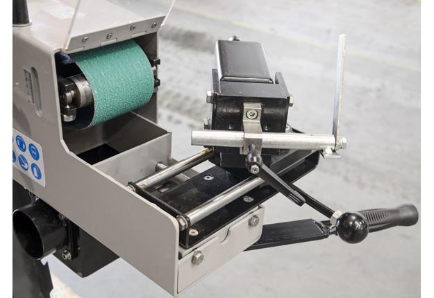 Grugeuse de tubes à bande abrasive - BSANDER 100.2000 MULTI